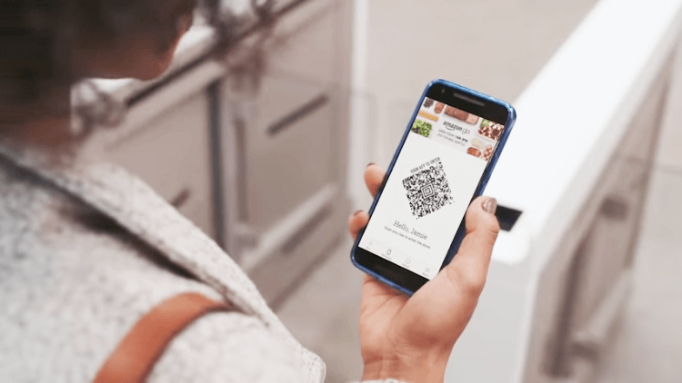 Amazon GO QR Codes